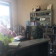 Photo of the front desk